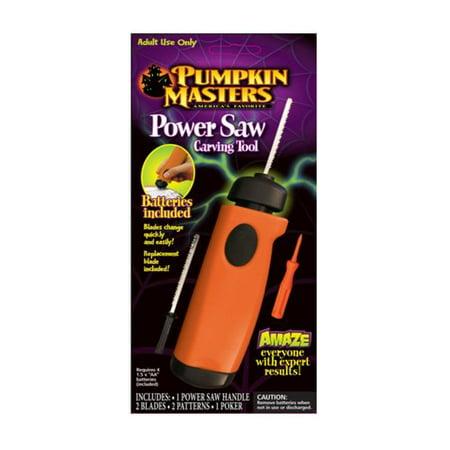 pumpkin masters power saw instructions