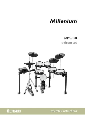 percussion plus drum set assembly instructions