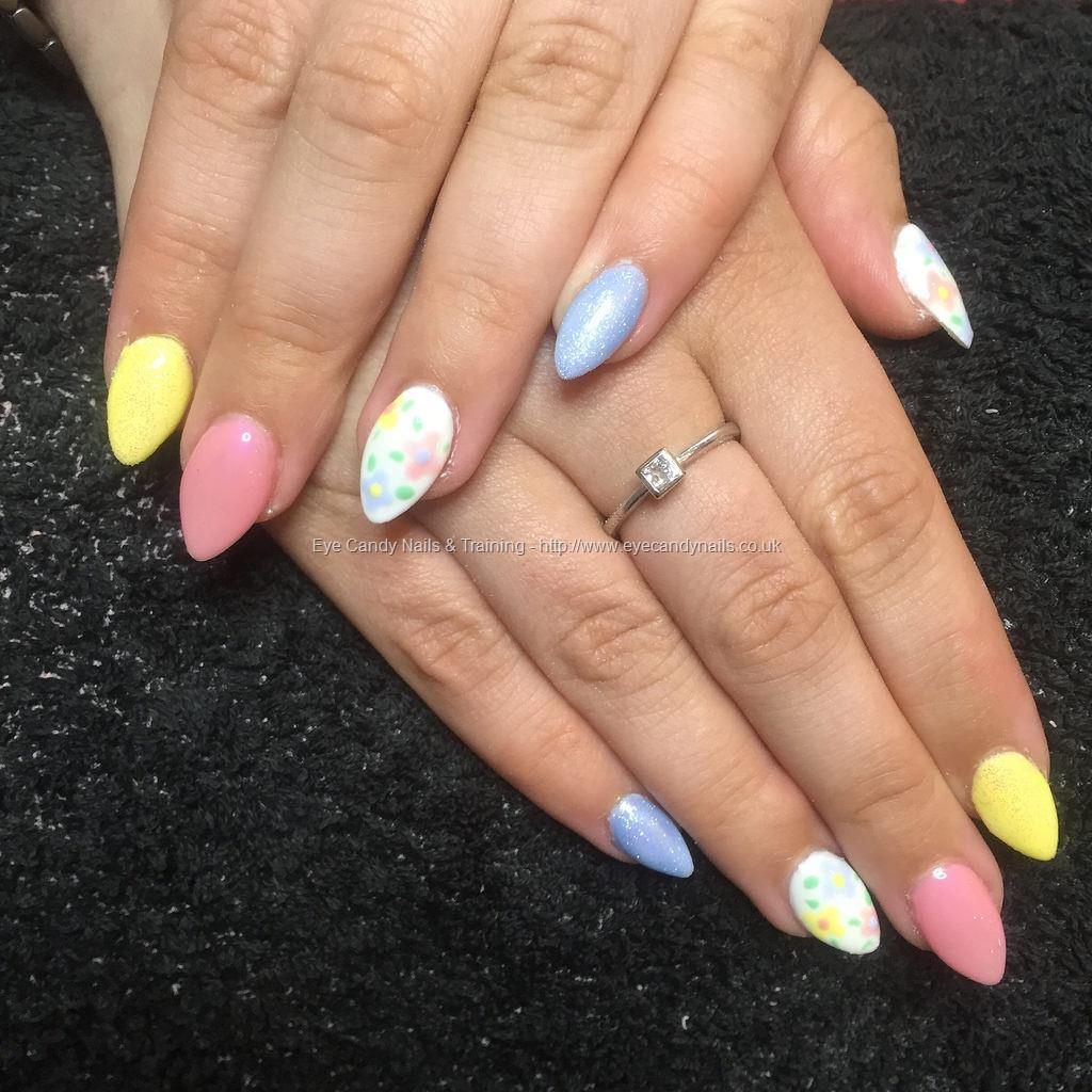 nail polish flowers instructions