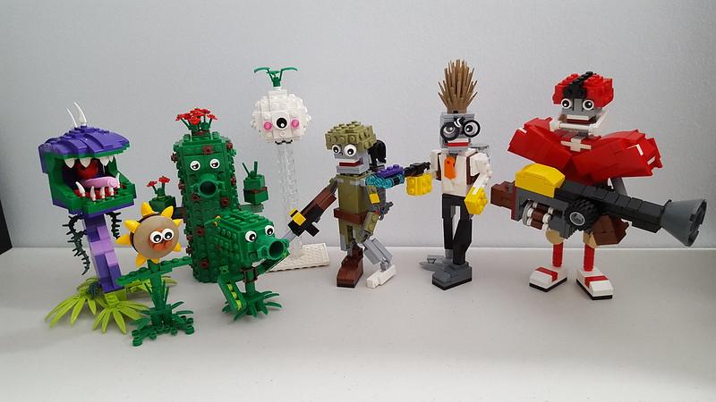 lego plants vs zombies instructions