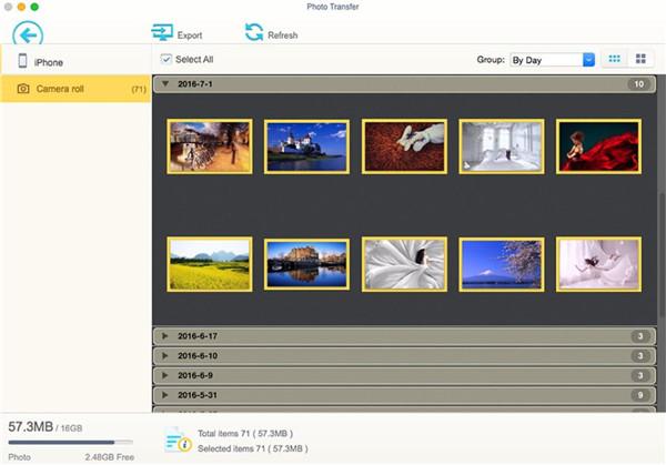 photo sync app instructions