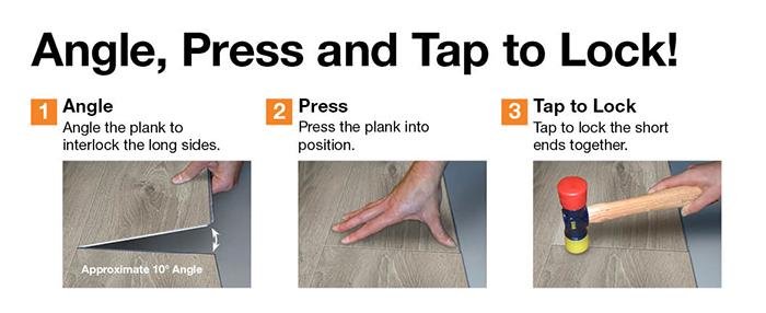 trafficmaster flooring installation instructions