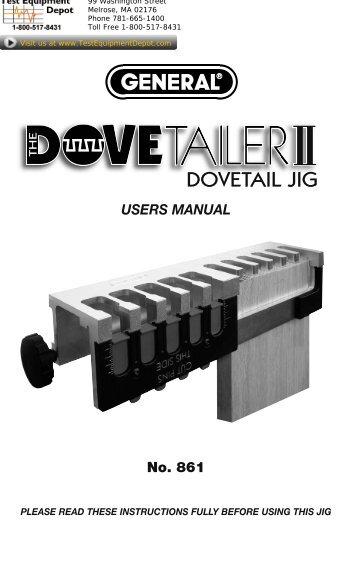 rockler 12 dovetail jig instructions