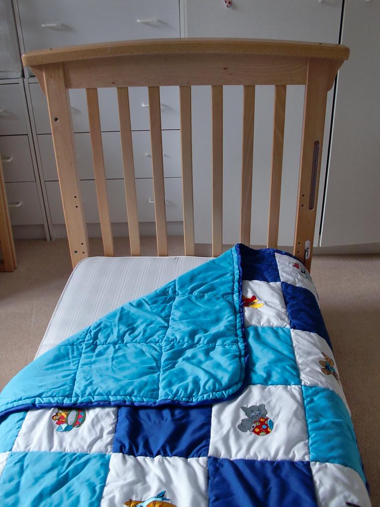 mothercare darlington dropside cot instructions