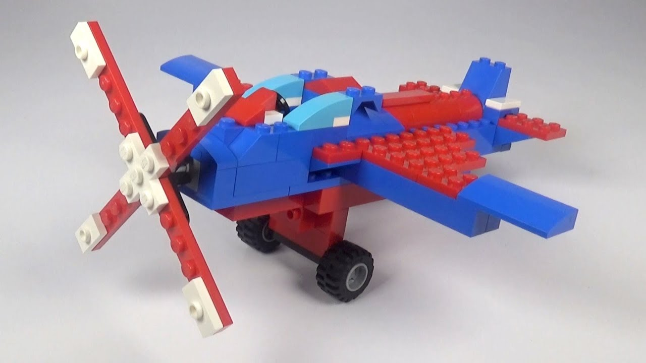 lego creator propeller plane instructions