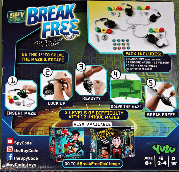 safe breaker game instructions