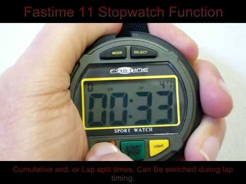casio running watch instructions