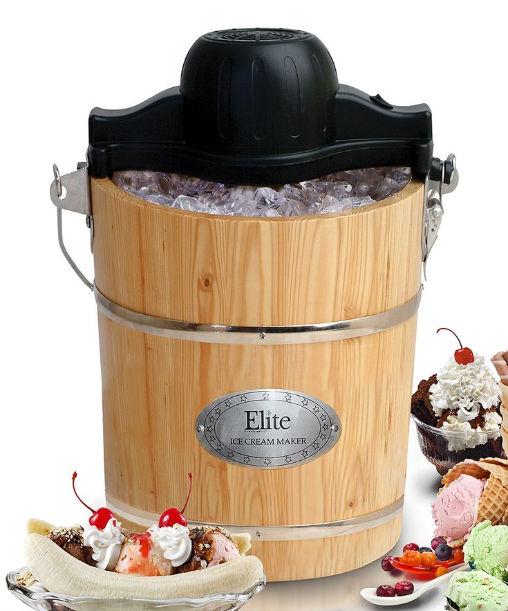 rival frozen delights ice cream maker instructions