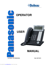 panasonic kx t7633 conference call instructions