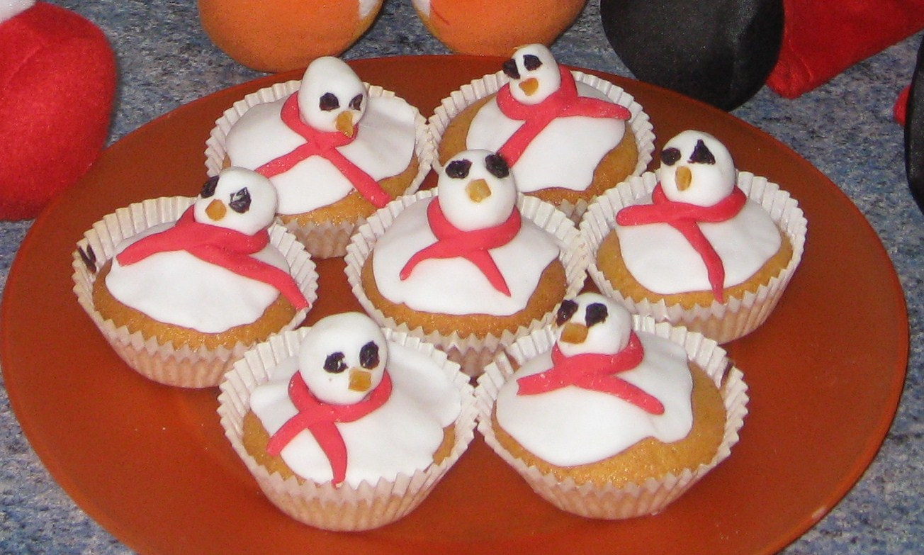 melting snowman biscuits instructions