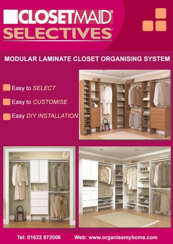 closetmaid selectives t4 instructions