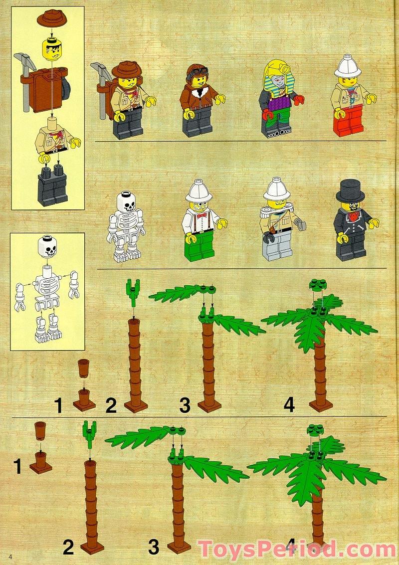 lego phoenix temple instructions