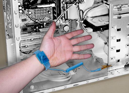 anti static band instructions