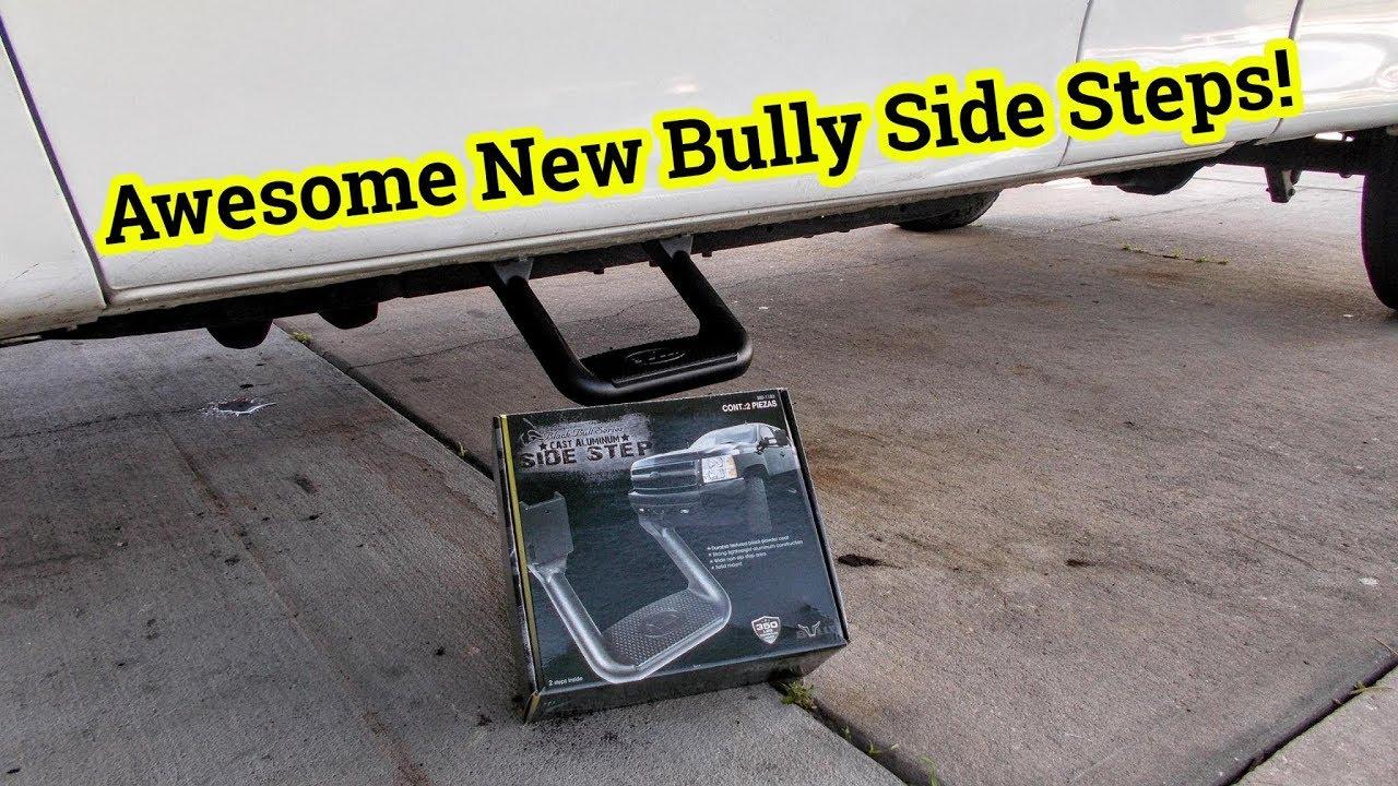 bully truck steps installation instructions