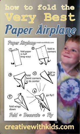 paper planes that fly far instructions