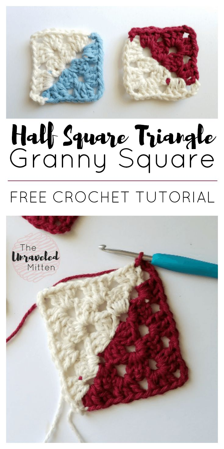 crochet granny square instructions with pictures