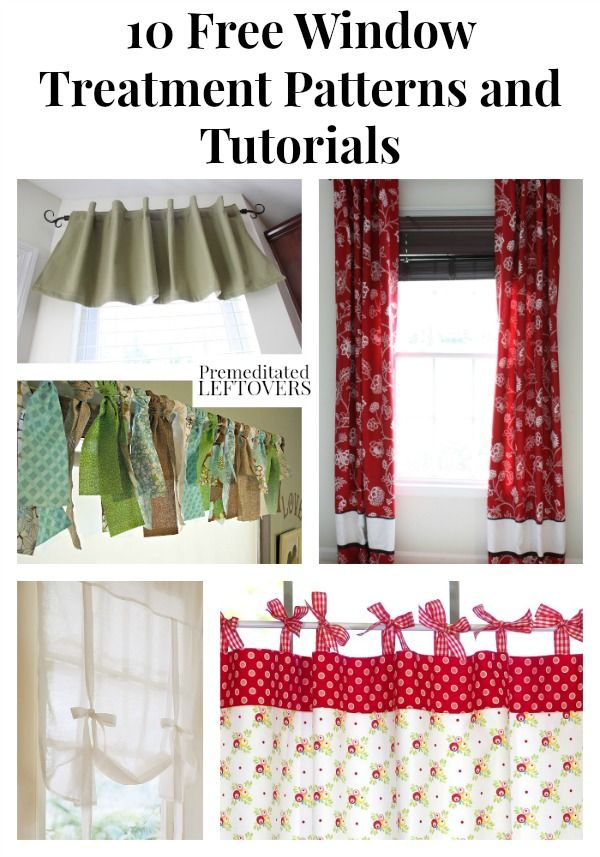 window valance sewing instructions