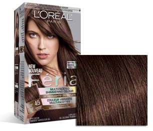 loreal light brown to dark blonde highlights instructions