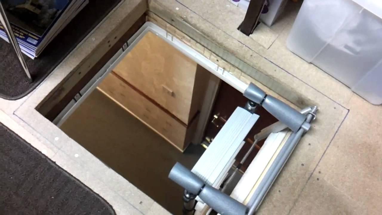 telesteps loft ladder fitting instructions