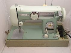 hg palmer sewing machine from 1960 instructions
