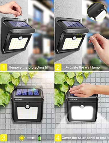 designers edge motion sensor light instructions