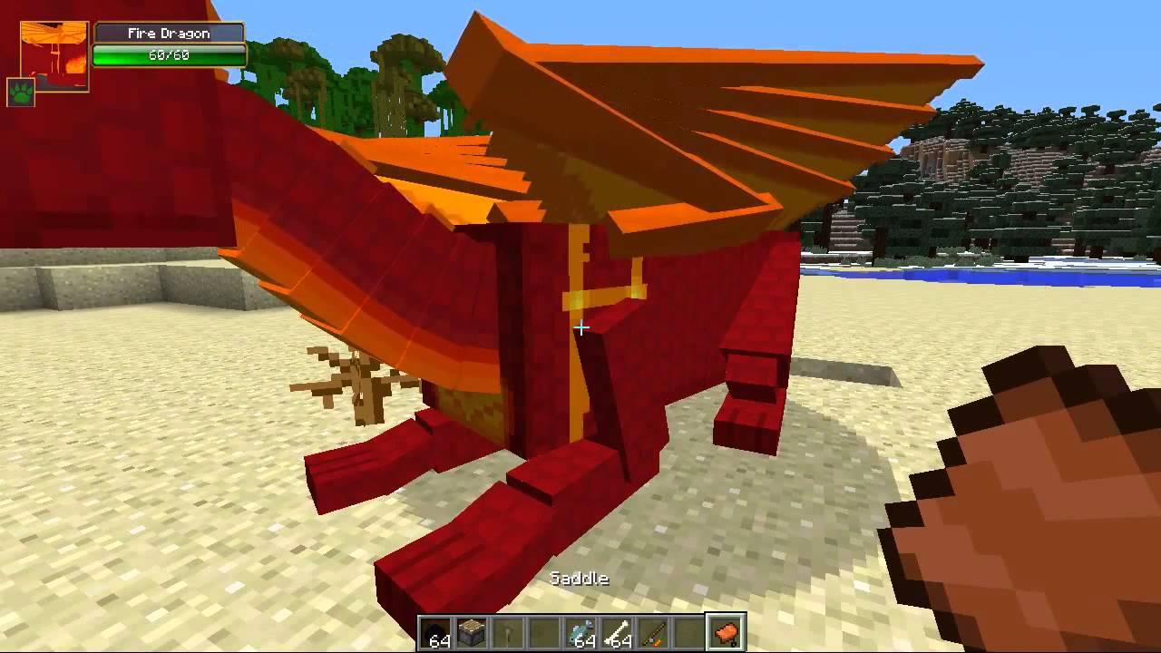 minecraft pet dragon mod instructions