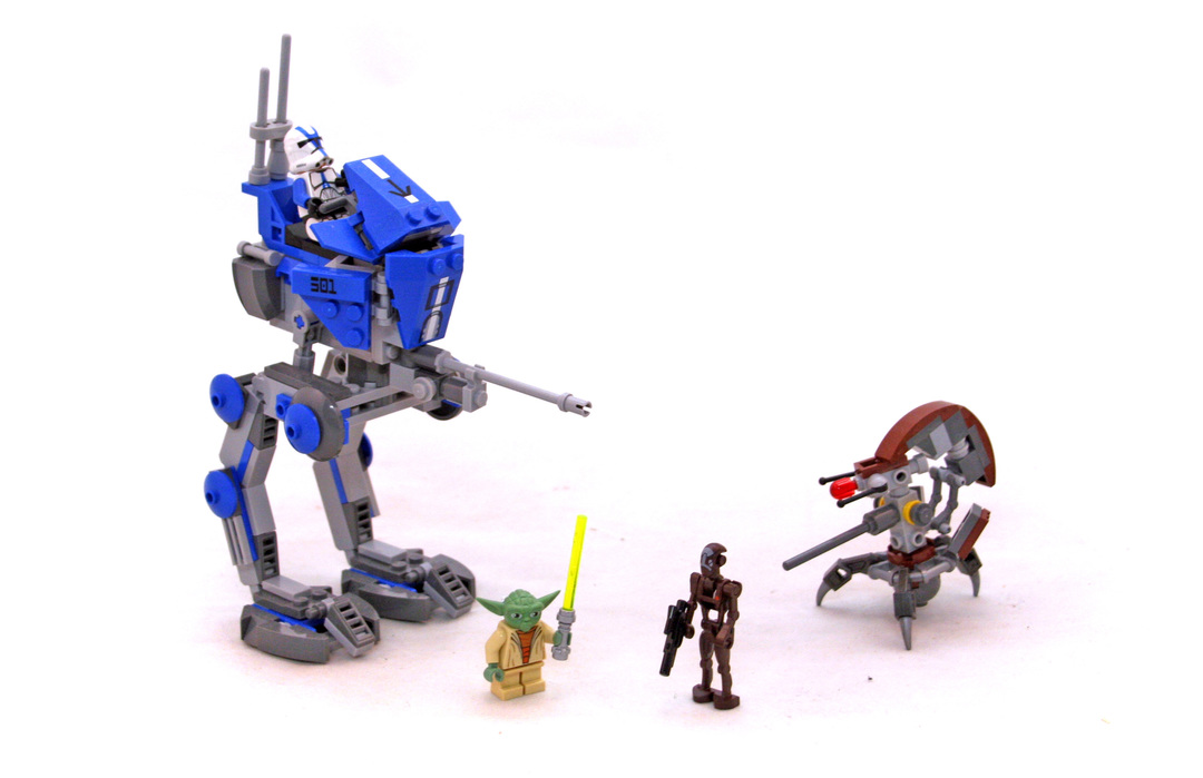 lego star wars custom at rt instructions