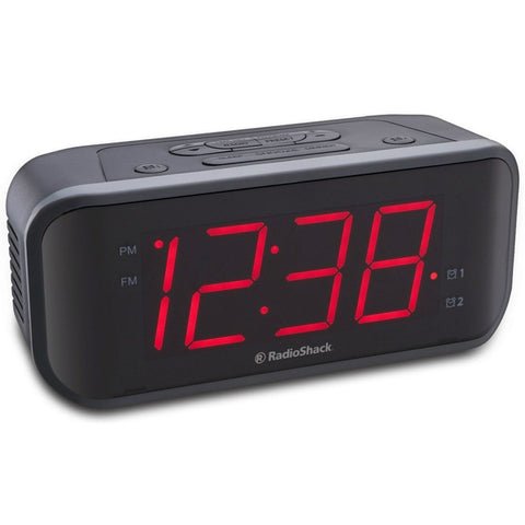 radio shack extra loud dual alarm clock radio instructions