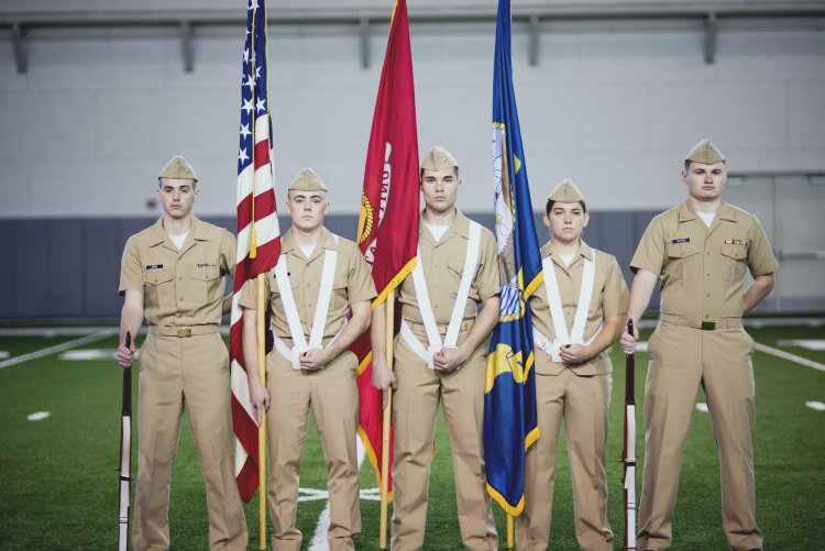 navy color guard instruction