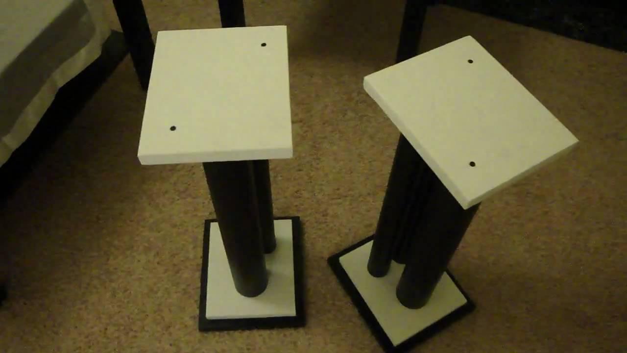 atlantic speaker stands instructions