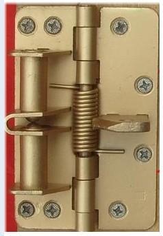 spring hinge pin door closer instructions