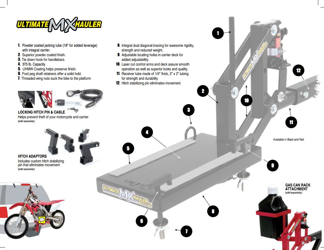 ultimate mx hauler instructions