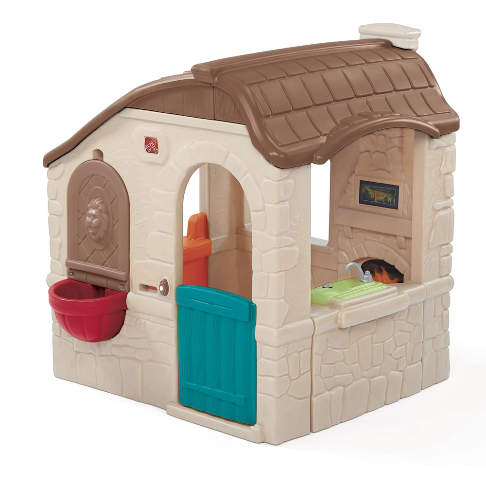 step2 2 story playhouse with slide instructions
