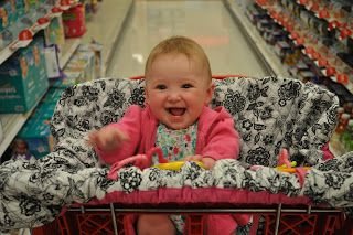 child of mine shopping cart cover instructions