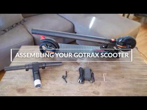taotao electric scooter assembly instructions
