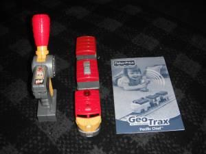 fisher-price geotrax train table and rc set instructions