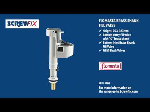 fix a loo inlet valve instructions how to adjustment