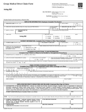 health insurance claim form instructions