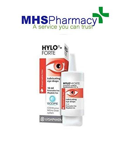 hylo-forte lubricating eye drops instructions