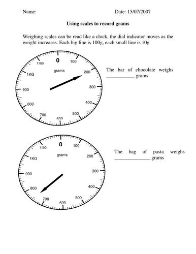 instruction scales ks-a 2000