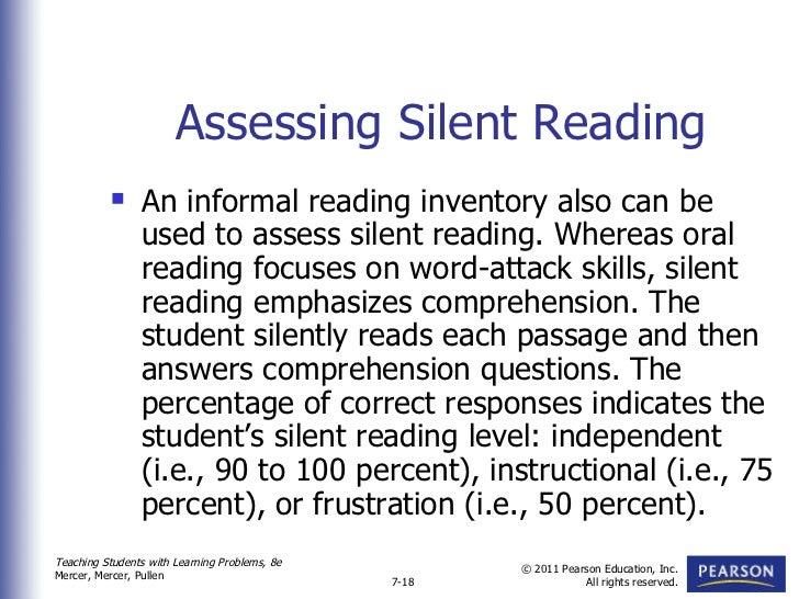 instructional reading level pp