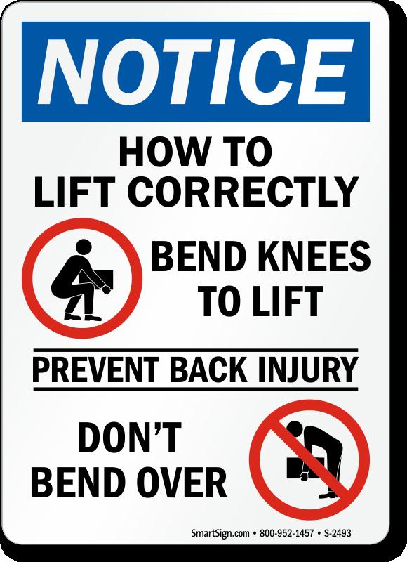 instructions for safe use & handling
