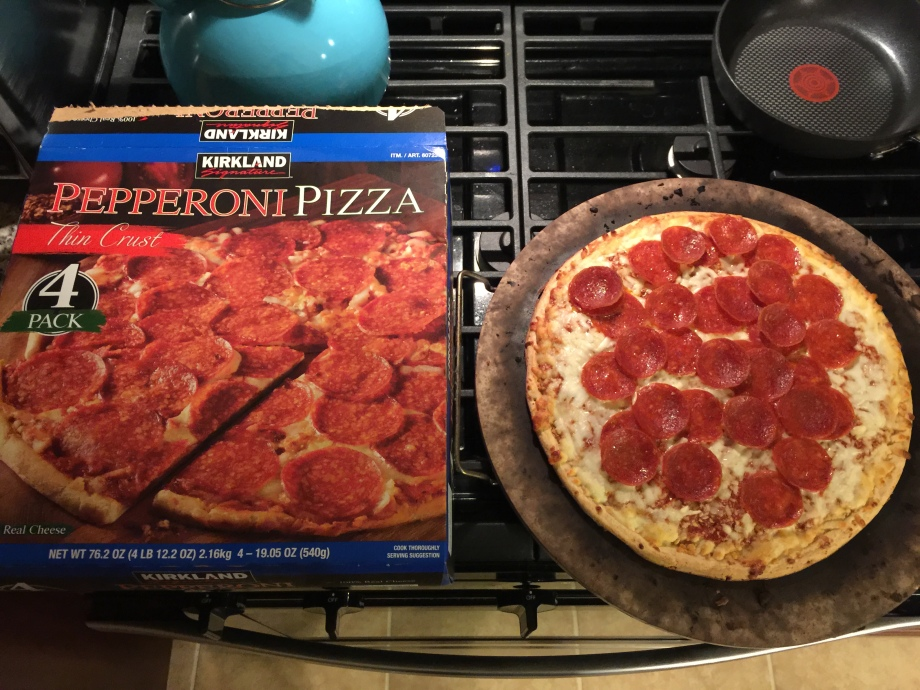 kirkland signature thin crust pepperoni pizza cooking instructions