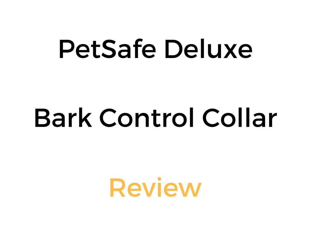 petsafe deluxe bark collar instructions