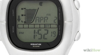rip curl bronx digital watch instructions