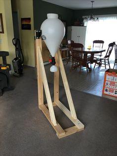 simple instructions built bycyle hoist grage